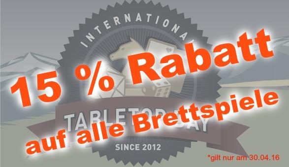 tabletopday rabatt