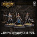 Cygnar Black 13th Gun Mage Strike Team Blister