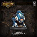 Cygnar Squire Warcaster Attachment Blister