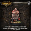 Khador Allies Kayazy Assassin Underboss Attachment Blister