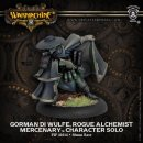 Mercenary Gorman di Wulfe, Rogue Alchimist Solo Blister