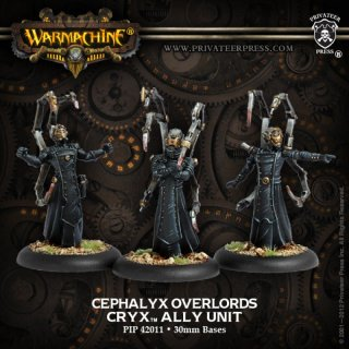 Cryx Allies Cephalyx Overlords Blister