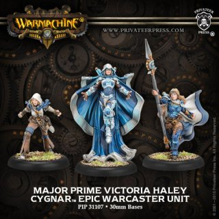 Cygnar Major Prime Victoria Haley Unit (3) Resin