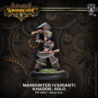 Khador Manhunter - Alternate Version Solo Blister