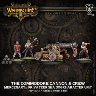 Mercenary Commodore Cannon and Crew Unit Box