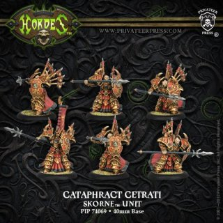 Skorne Cataphract Cetrati Unit (6) Box (plastic)