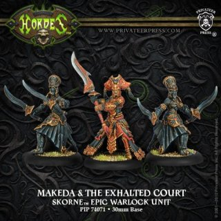 Skorne Makeda & The Exalted Court Epic Warlock Unit Box