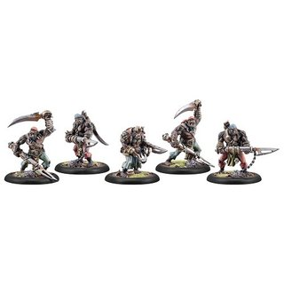 Cryx Black Ogren Boarding Party (5) (repack)