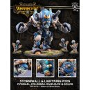 Cygnar Hurricane / Stormwall Colossal Warjack Kit (plastic)
