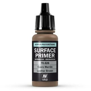 Surface Primer Leather Brown 17ml