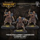 Trencher Combat Engineers - Cygnar Unit (resin/metal)