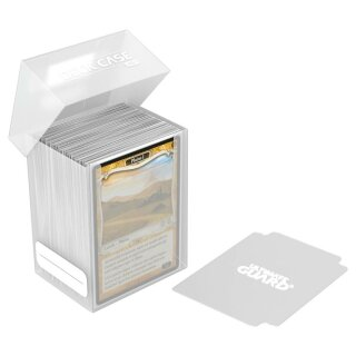 Ultimate Guard Deck Case 80+ Standardgröße Transparent