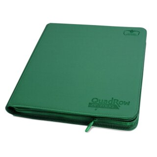 Ultimate Guard 12-Pocket QuadRow ZipFolio XenoSkin Grün