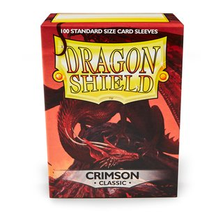 Dragon Shield Classic - Crimson (100 ct. in box)
