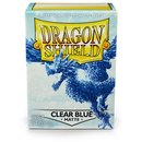 Dragon Shield Matte - Clear Blue (100) -  Limited color