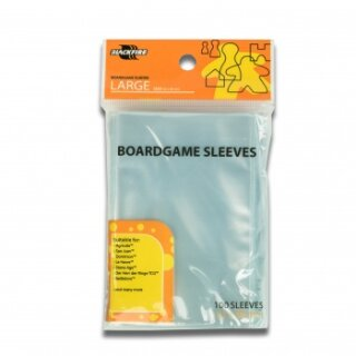Blackfire Sleeves - Boardgame Sleeves - Large (62x96mm) - 100 Pcs