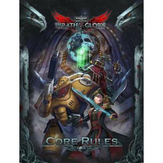 WH40K: Wrath & Glory Core Rulebook HC Englisch
