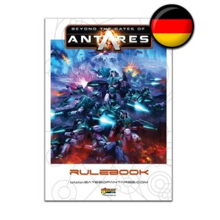 Beyond the Gates of Antares Rule Book Deutsch
