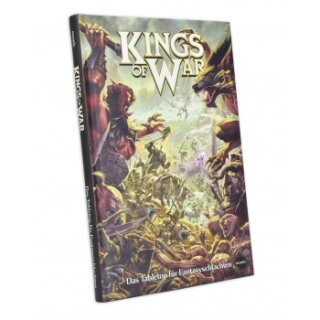 Mantic Games Hard Cover Kings of War 2nd Edition Rulebook