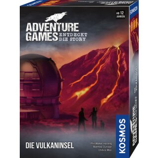 Adventure Games: Die Vulkaninsel