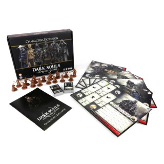 Dark Souls: The Board Game - Characters Expansion (DE)