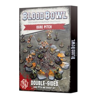 Blood Bowl Ogre Team Pitch & Dugouts (englisch)